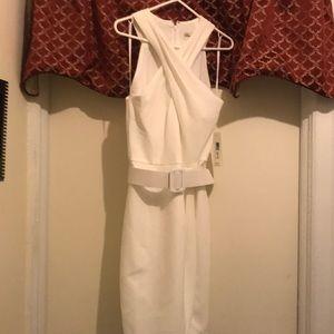 Eliza J white dress size 10